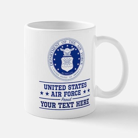 U.S. Air Force Proud Personalize Mug