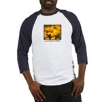 california poppies + wildflowers Baseball Jersey