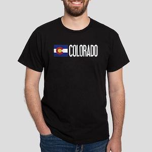 Colorado: Coloradan Flag & Colorado Dark T-Shirt