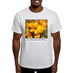 california poppies + wildflowers Ash Grey T-Shirt