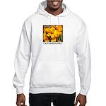 california poppies + wildflowers Hooded Sweatshirt
