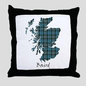 Map - Baird Throw Pillow