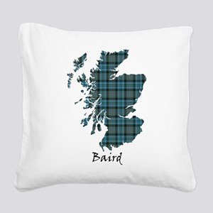 Map - Baird Square Canvas Pillow