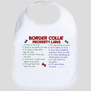 Border Collie Property Laws 2 Bib