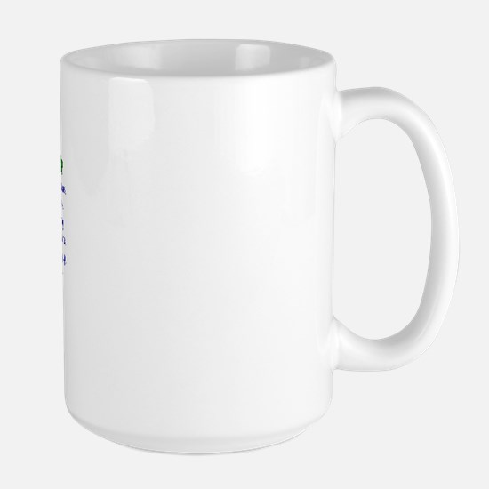 Border Collie Property Laws 2 Large Mug