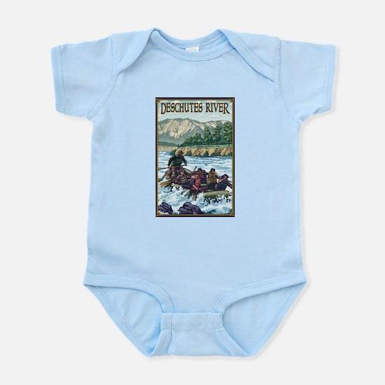 Bend, Oregon - Deschutes River Rafting Body Suit