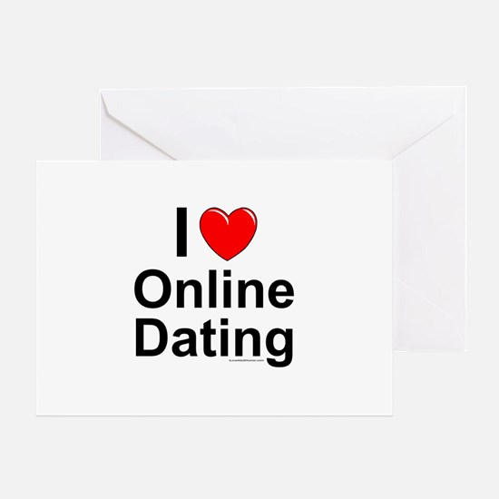 Online Dating Greeting Card