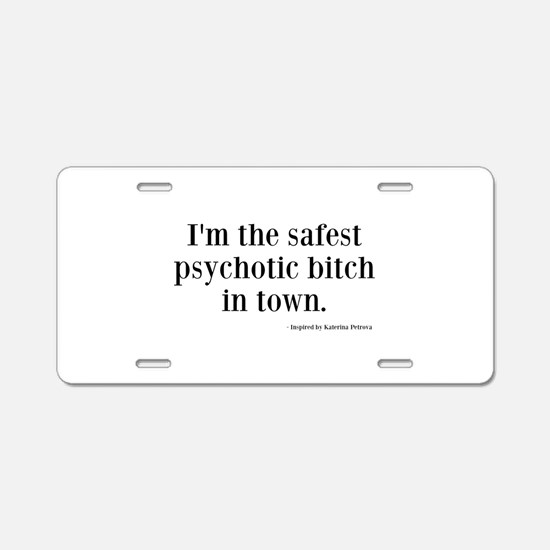 Katherine Pierce Quotes Aluminum License Plate