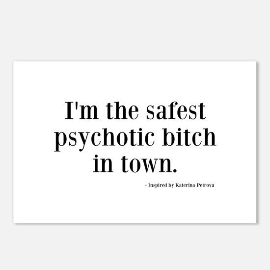Katherine Pierce Quotes Postcards (Package of 8)