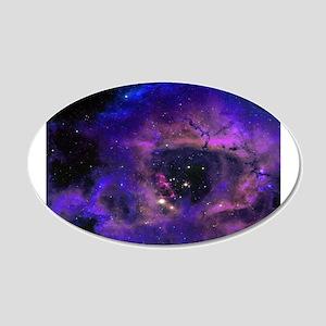 Purple Nebula Wall Decal