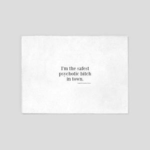 Katherine Pierce Quotes 5'x7'Area Rug