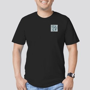 Monogram - Baird Men's Fitted T-Shirt (dark)
