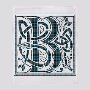 Monogram - Baird Throw Blanket