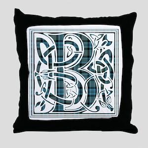 Monogram - Baird Throw Pillow