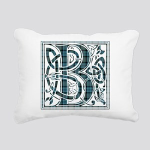 Monogram - Baird Rectangular Canvas Pillow