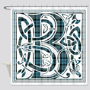 Monogram - Baird Shower Curtain