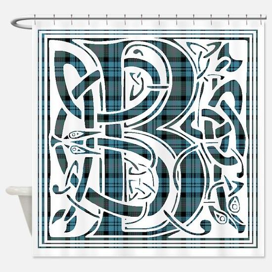 Monogram - Baird Shower Curtain