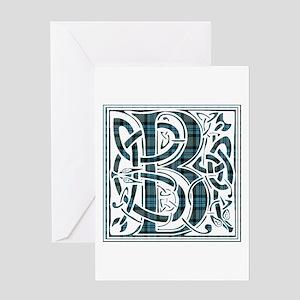 Monogram - Baird Greeting Card
