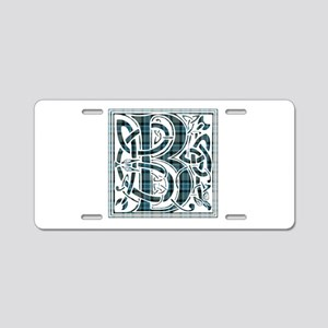 Monogram - Baird Aluminum License Plate