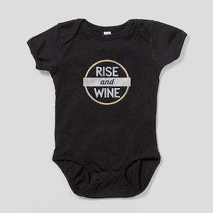 Rise & Wine Baby Bodysuit