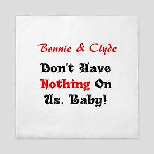 Bonnie & Clyde Queen Duvet