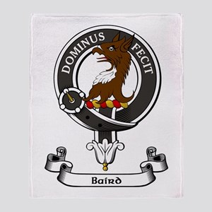 Badge - Baird Throw Blanket