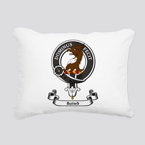 Badge - Baird Rectangular Canvas Pillow