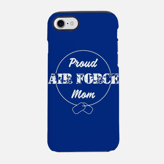 Proud Air Force Mom iPhone 8/7 Tough Case
