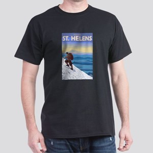 Mount St. Helens, Washington - Mountain Climber T-
