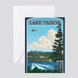 Lake Tahoe, California Greeting Cards