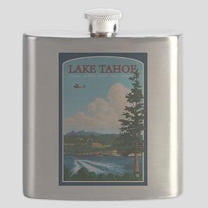 Lake Tahoe, California Flask