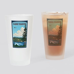 Lake Tahoe, California Drinking Glass