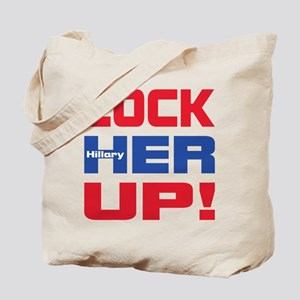 HILLARY LOCK HER UP Tote Bag