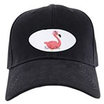 Pink Flamingo Lady Baseball Hat