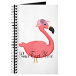 Pink Flamingo Lady Journal