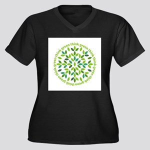 Think Green Plus Size T-Shirt