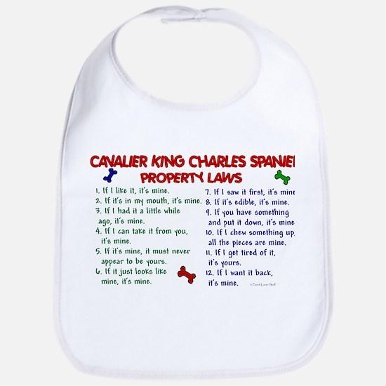 Cavalier King Charles Property Laws 2 Bib