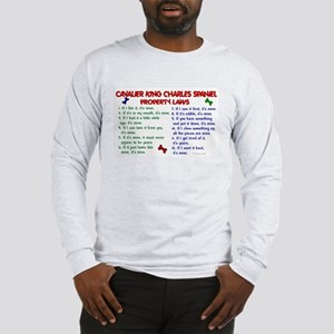 Cavalier King Charles Property Laws 2 Long Sleeve
