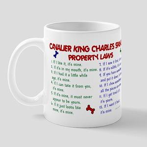 Cavalier King Charles Property Laws 2 Mug