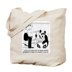 Panda Cartoon 9352 Tote Bag