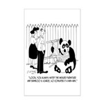 Panda Cartoon 9352 Mini Poster Print