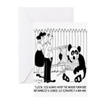 Panda Cartoon 9352 Greeting Cards (Pk of 10)