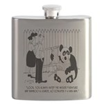 Panda Cartoon 9352 Flask