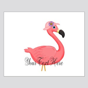 Pink Flamingo Lady Posters