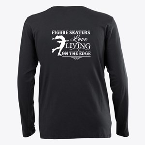 Figure Skaters Shirt Plus Size Long Sleeve Tee