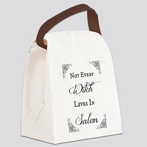 Salem Witch Canvas Lunch Bag