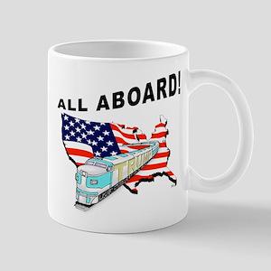 Trump Train - All Aboard! Mug Mugs