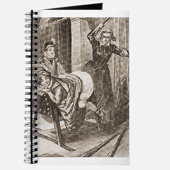 Spanking art Journal