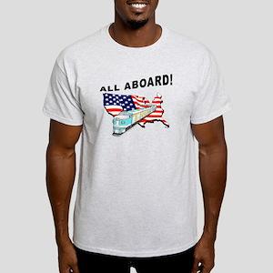 Trump Train - All Aboard! Light T-Shirt