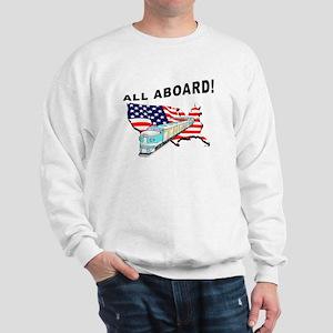Trump Train - All Aboard! Sweatshirt